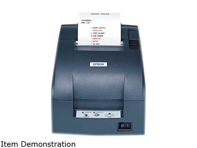 Tm-U220b Dot Matrix Printer Monochrome Receipt Print 6 Lps Mono