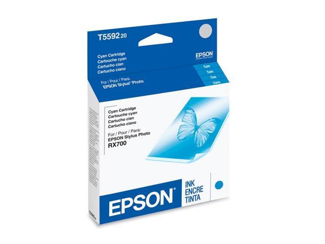 EPSON T559220 Ink Cartridge for Stylus Photo RX700 All-in-one Cyan