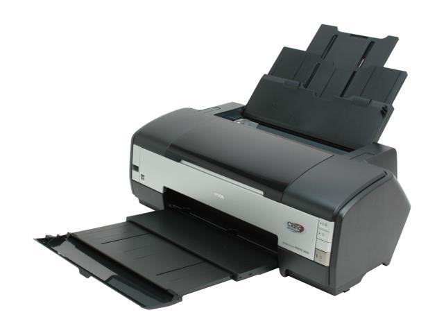 EPSON Stylus Photo 1400 C11C655001 Up to 15 ppm Black Print Speed InkJet Photo Color Printer