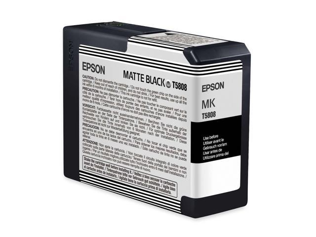 EPSON T580800 80 ml UltraChrome K3 Ink Cartridge Matte Black