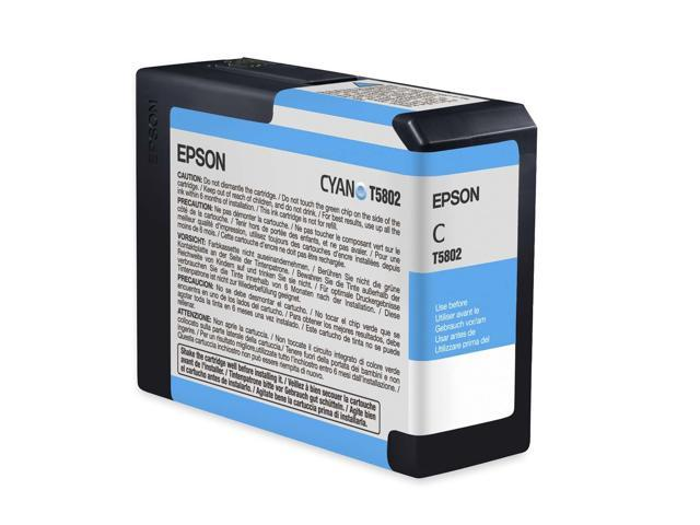 EPSON T580200 80 ml UltraChrome K3 Ink Cartridge Cyan
