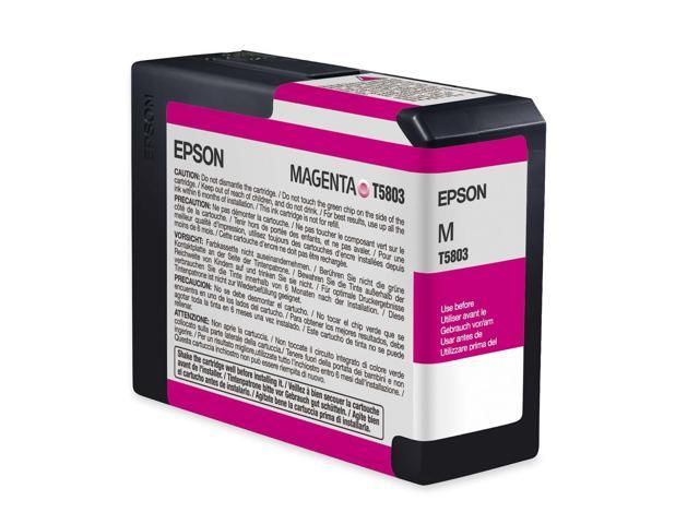 EPSON T580300 80 ml UltraChrome K3 Ink Cartridge Magenta