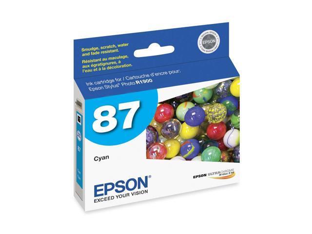 EPSON T087220 Ink Cartridge Cyan