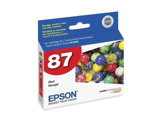 EPSON T087720 Ink Cartridge Red