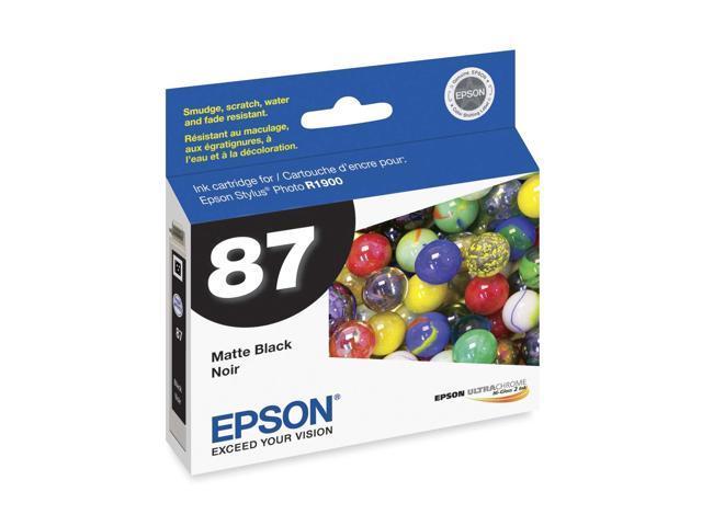 EPSON T087820 Ink Cartridge Matte Black