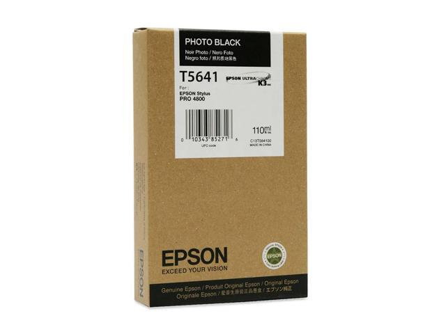 EPSON T605100 110 ml UltraChrome K3 Ink Cartridge Photo Black