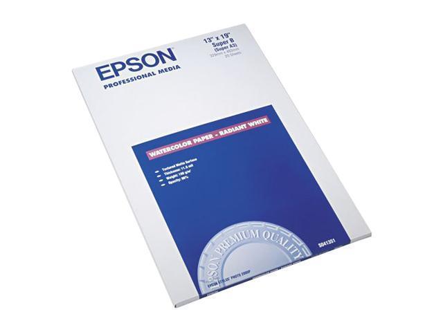 EPSON S041351 Watercolor Paper