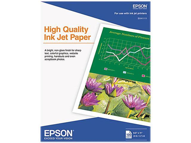 Epson S041111 Coated Paper For Inkjet Print - 8.50