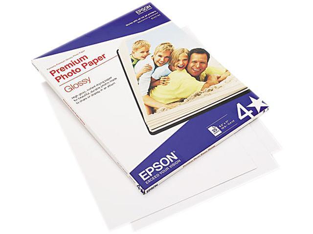 Epson S042183 Premium Photo Paper Letter - 8.50