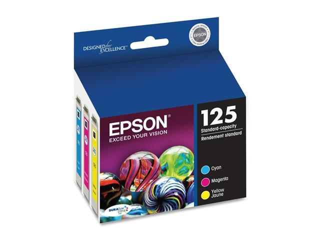 EPSON T125520 125 Ink Cartridge Multi-Pack Color