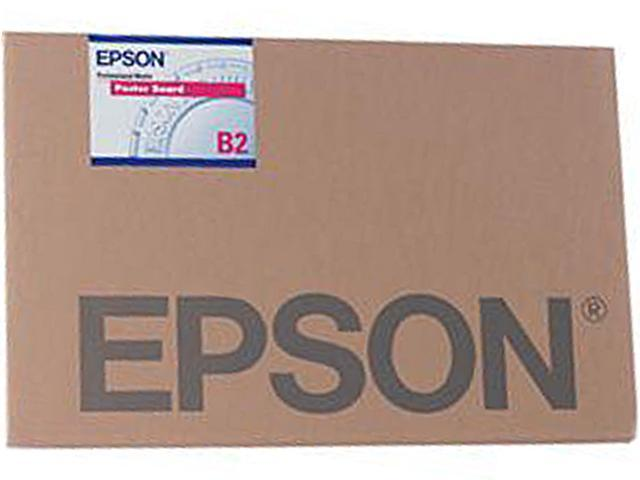 Epson Enhanced Matte Poster Board Inkjet Paper, 1.2mm Thick, 24x30