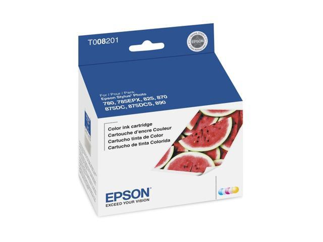 EPSON T008201-S Color Ink Cartridge Color