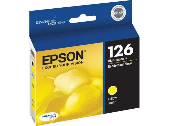 EPSON T127420-S DURABrite High Capacity Ink Cartridge Yellow