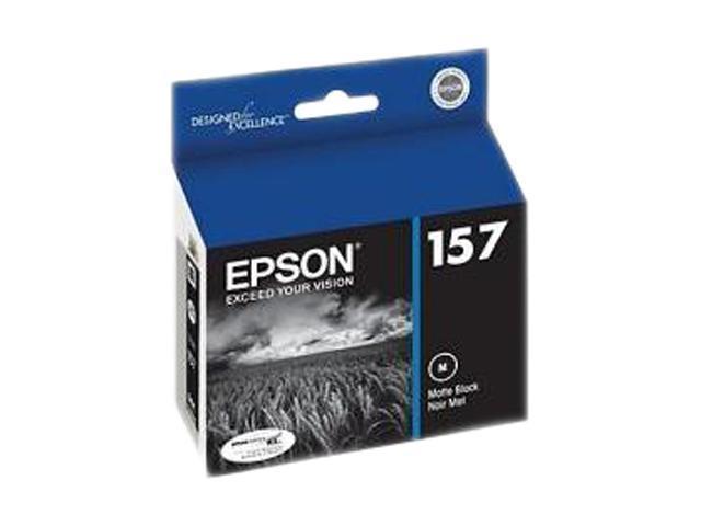 EPSON T157820 UltraChrome K3 157 Ink Cartridge Matte Black