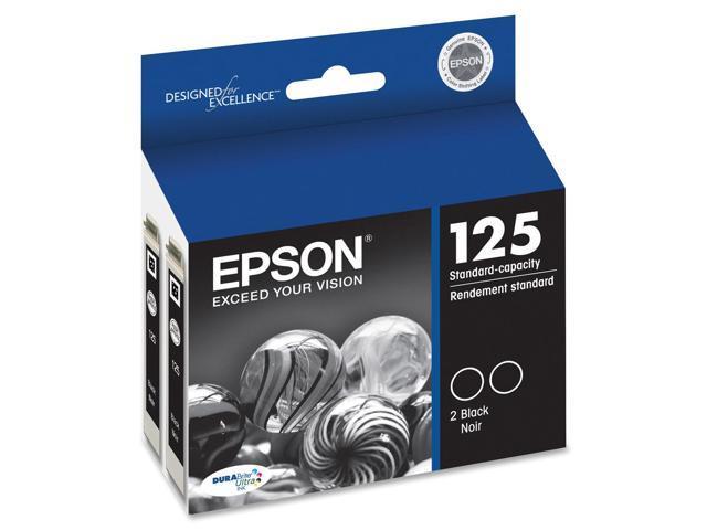 Epson DURABrite No. 125 Dual Pack Ink Cartridge