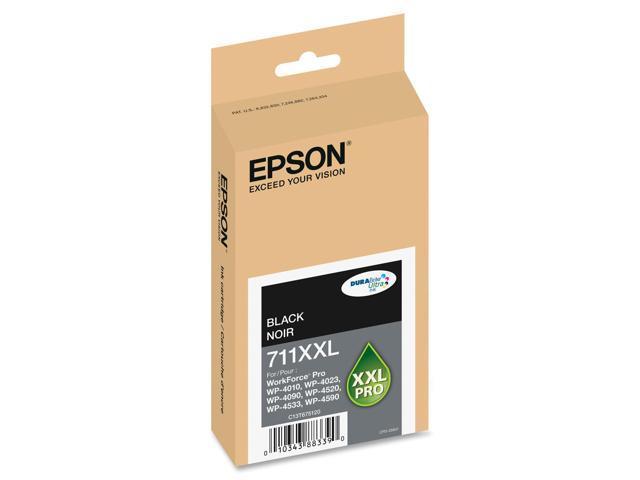 Epson DURABrite Ultra 711XXL Ink Cartridge - Black