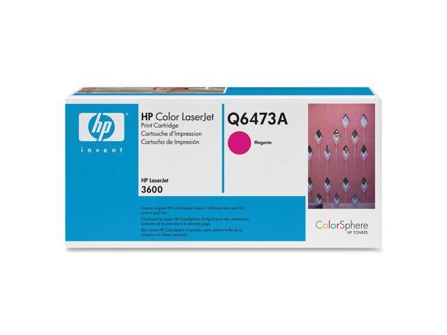 HP Q6473A LaserJet Print Cartridge for Color LaserJet 3600 Magenta