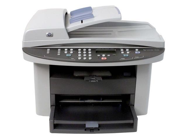 hp laserjet 3030 q2666a mfc all in one up to 15 ppm monochrome laser printer. Black Bedroom Furniture Sets. Home Design Ideas