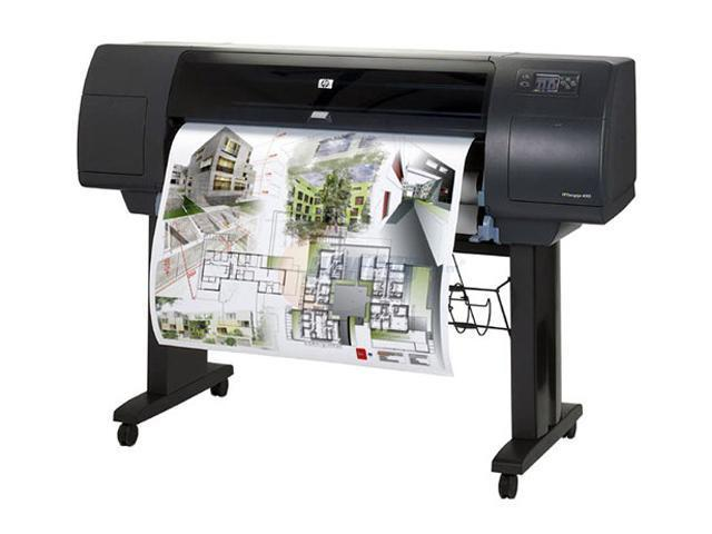 HP DesignJet 4000PS Q1274A 2400 x 1200 dpi Color Print Quality Thermal Inkjet Large Format Color Printer