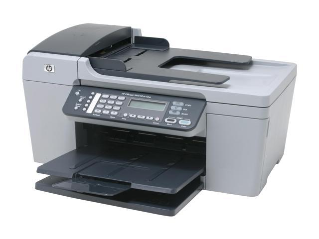 how to connect hp officejet 5610 to computer