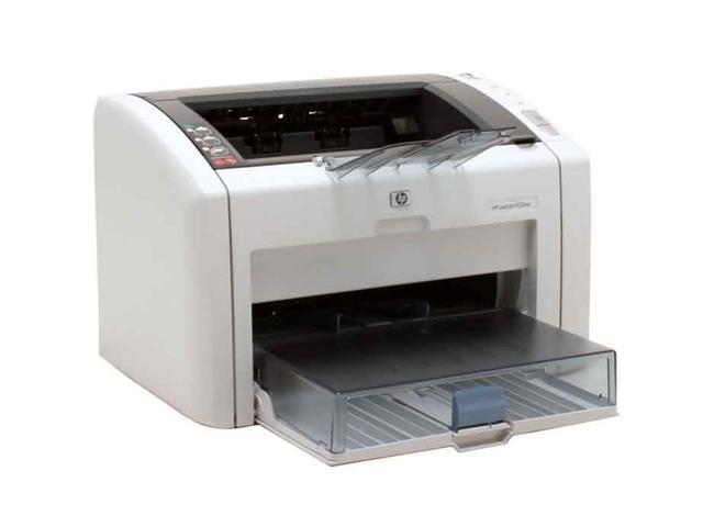 HP LaserJet 1022NW Q5914A Plain Paper Print Up to 19 ppm 1200 x 1200 dpi Color Print Quality Monochrome Wireless 802.11b/g/n Laser Printer