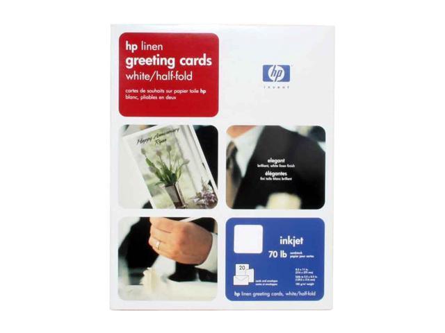 Hp q1788a linen white half fold greeting card newegg hp q1788a linen white half fold greeting card m4hsunfo