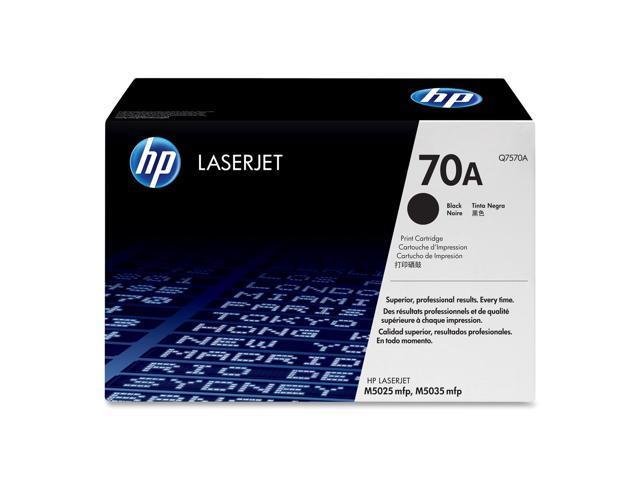 HP Q7570A LaserJet Q7570A Print Cartridge with Smart Printing Technology Black
