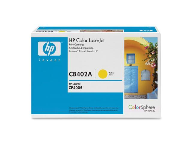 HP CB402A Color LaserJet CB402A Print Cartridge with Colorsphere Toner Yellow