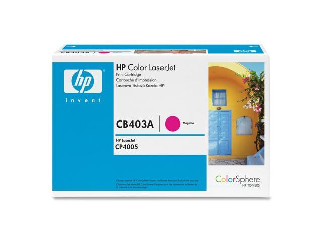 HP CB403A Color LaserJet CB403A Print Cartridge with Colorsphere Toner Magenta