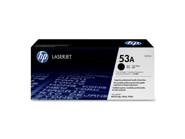 HP 53A Black LaserJet Toner Cartridge (Q7553A)