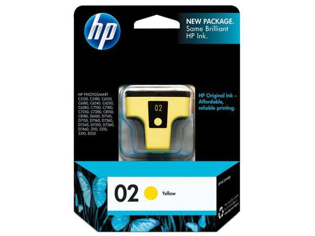 HP C8773WN#140 02 Ink Print Cartridge Yellow