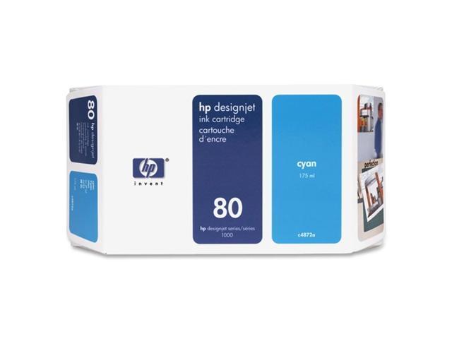 HP C4872A Cartridge For HP Designjet 1000 Printer series Cyan