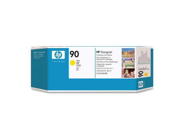 HP C5057A Printhead and Printhead Cleaner For HP Designjet 4000/4500 Printer series Yellow