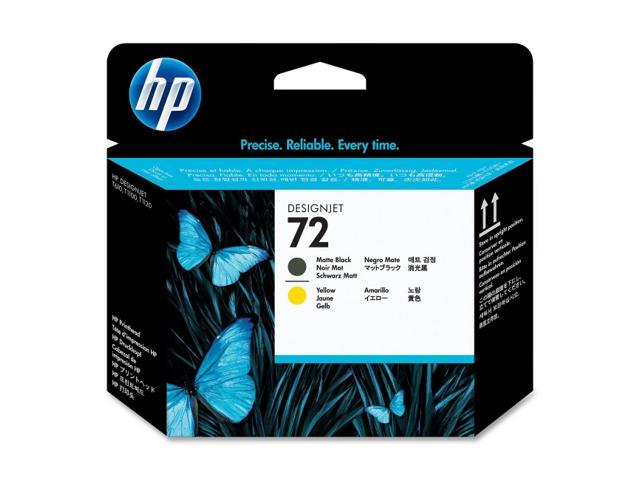 HP 72 C9384A Printhead For HP Designjet T610 and T1100 printers Matte black&yellow