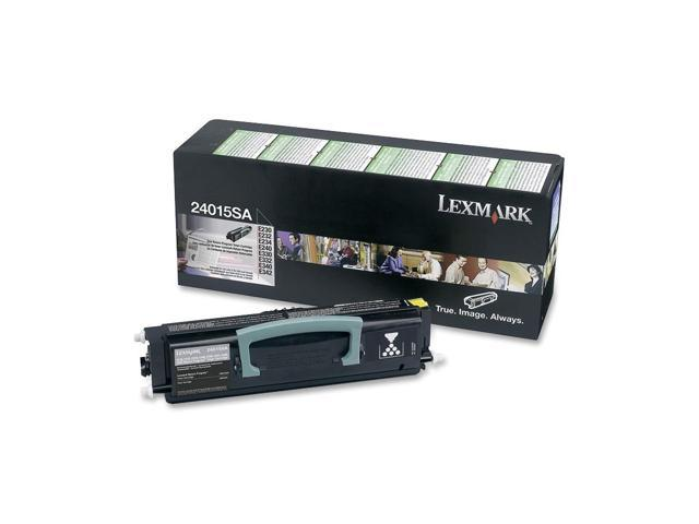 LEXMARK 24015SA Return Program Toner Cartridge Black