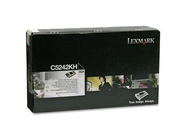 LEXMARK C5242KH High Yield Toner Cartridge Black