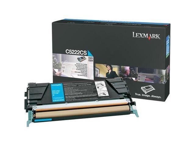 LEXMARK C5222CS Toner Cartridge Cyan