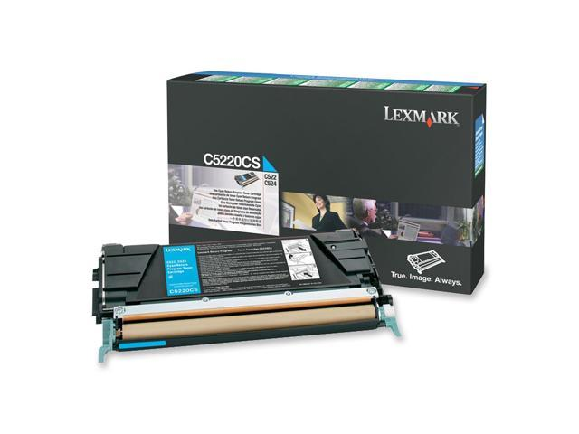 LEXMARK C5220CS Return Program Toner Cartridge Cyan