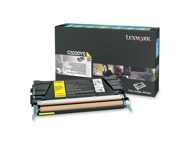 LEXMARK C5220YS Return Program Toner Cartridge Yellow