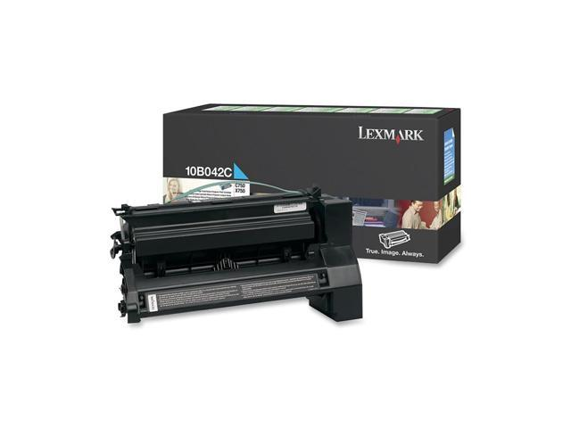 LEXMARK 10B042C TONER Cartridge for C750 Cyan