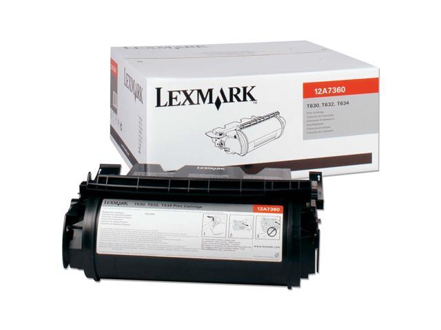 LEXMARK 12A7360 Cartridge Black