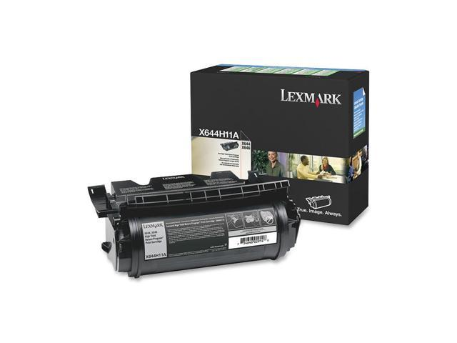 LEXMARK X644H11A X644E X646E HIGH YIELD RETURN PROGRAM PRINT CARTRIDGE Black