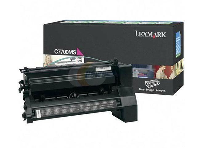LEXMARK C7700MS Return Program Print Cartridge Magenta