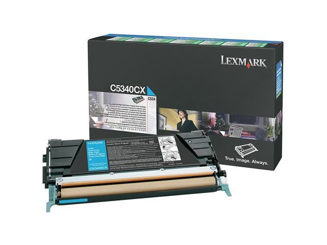 LEXMARK C5340CX Extra High Yield Return Program Toner Cartridge Cyan