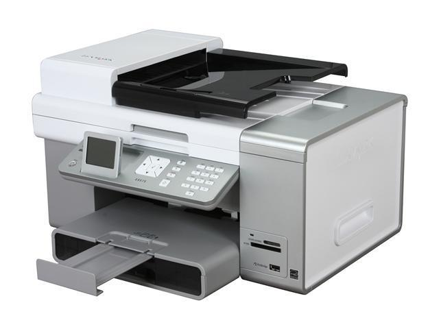 LEXMARK X9575 Professional 14V1000 Up to 33 ppm 4800 x 1200 dpi Wireless Thermal Inkjet MFC / All-In-One Color Printer with Photo Feature