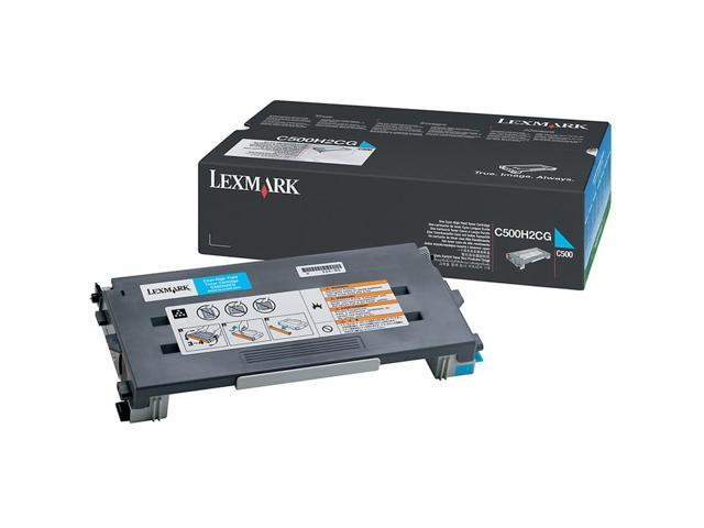 LEXMARK C500H2CG Cartridge For C500, X500, X502 Cyan