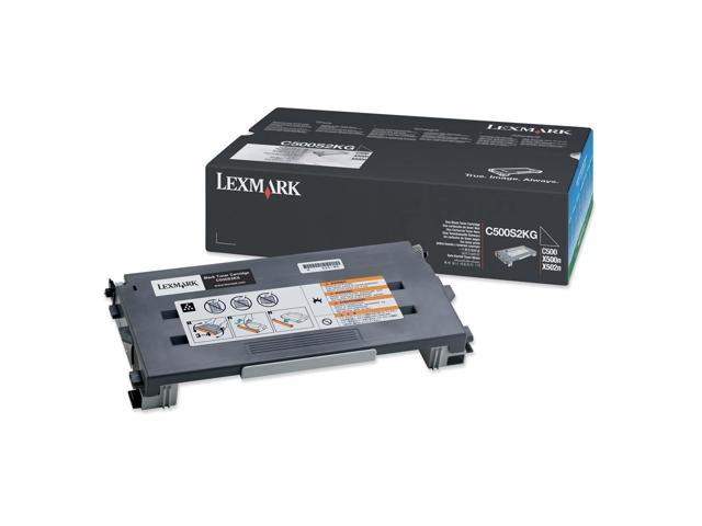 LEXMARK C500S2KG Toner Cartridge For C500, X500, X502 Black