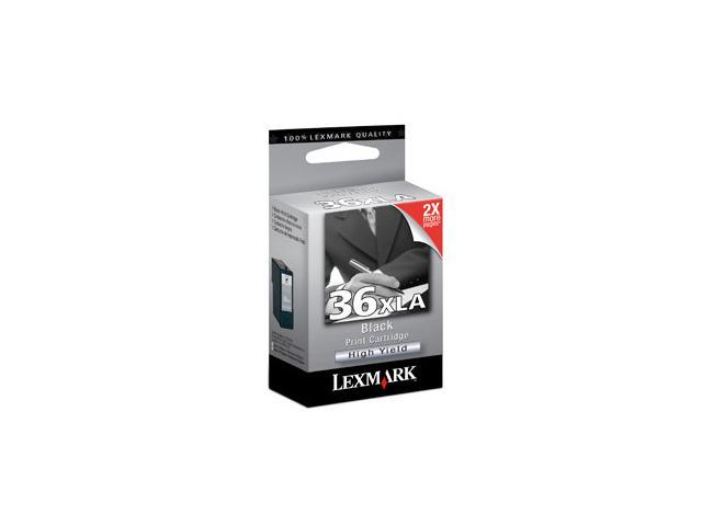 LEXMARK 18C2190 #36XLA Print Cartridge Black