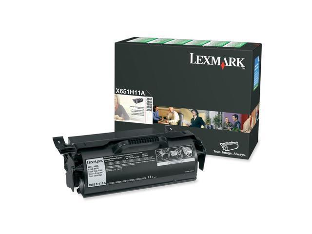 LEXMARK X651H11A High Yield Return Program Print Cartridge