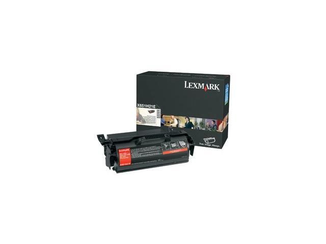 LEXMARK X651H21A High Yield Print Cartridge